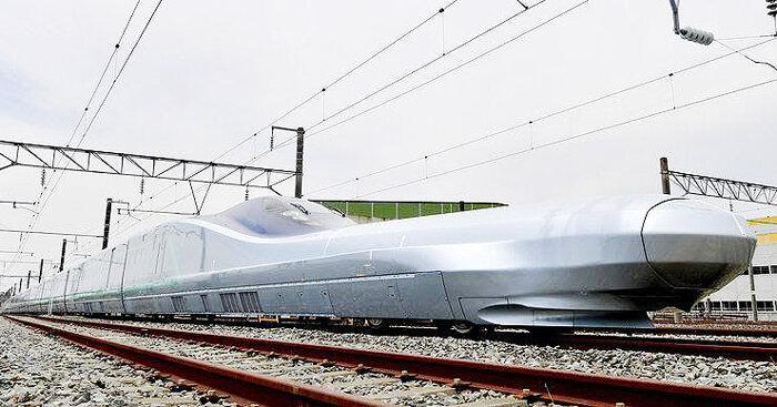 سریعترین قطار دنیا در ژاپن رونمایی شد
