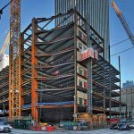 Erector Proves Speed Predictions for Radical Steel Frame of Seattle's Rainier Square Tower