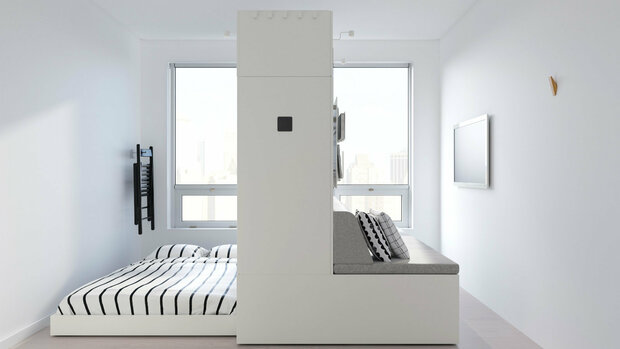 ابداع مبلمان رباتیک برای آپارتمان های کوچک