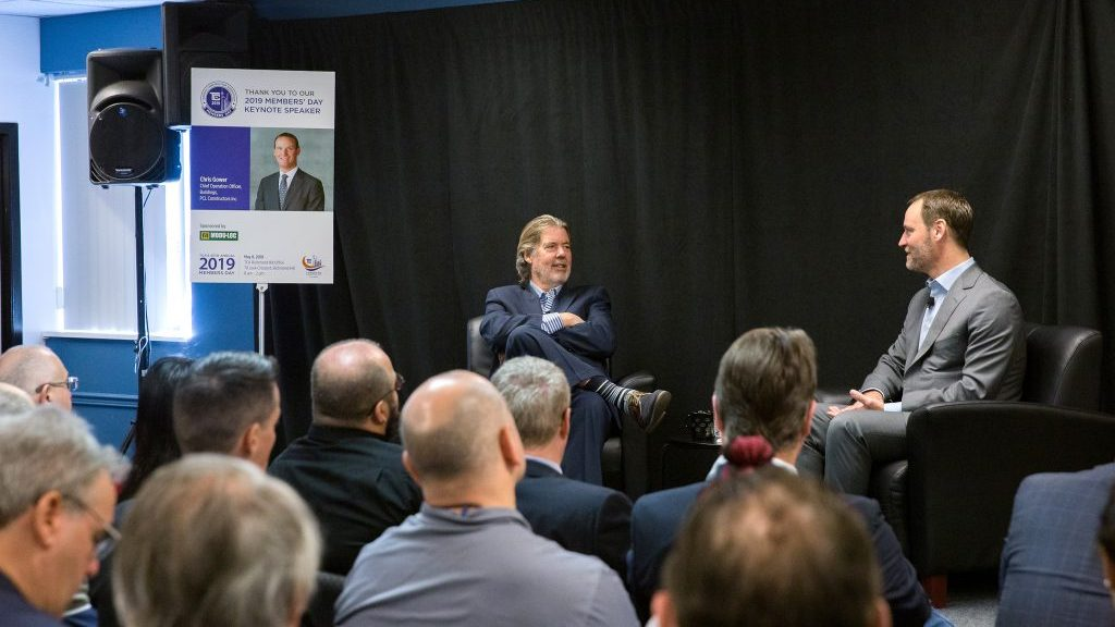 Gower Speaks On 'Thriving In A Changing World' At TCA Members' Day