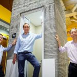 3D-Printed Bathroom Units Take Shape in a Single Day