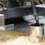 Safe Sampling of Hot Bitumen from Road Tankers