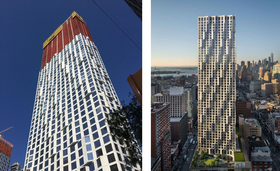 Jeanne Gang's New Residential Tower Tops Out in Downtown Brooklyn
