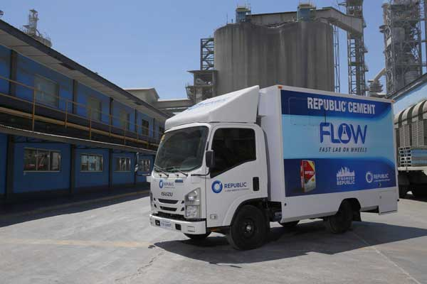 Republic Cement Rolls Out Mobile Testing Lab