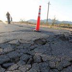 صویربرداری ناسا از زلزله کالیفرنیا و نمایش تغییر پوسته زمین