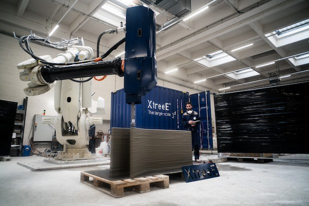 XtreeE Begins Deployment of Connected Construction Printers with Production Site in Dubai