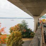 Sound Transit Installing Light Rail Track on Floating Bridge