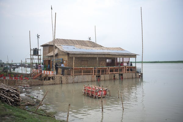 How our floating homes will help people in flood-prone countries