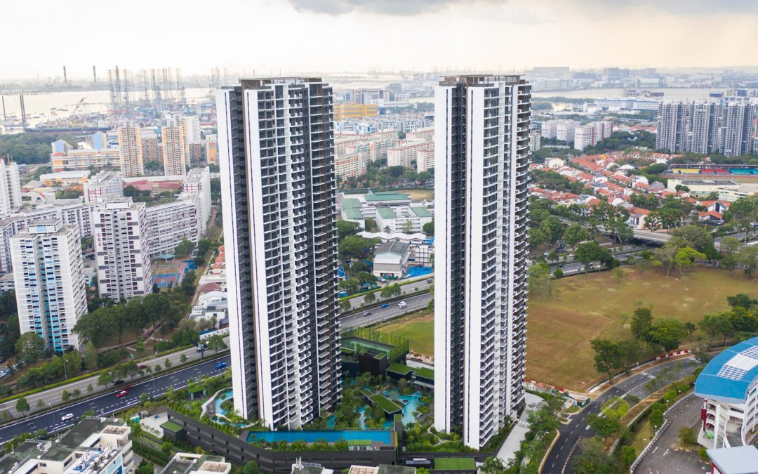 World's Tallest Modular Tower is Now Clement Canopy in Singapore