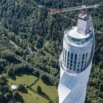 The Thyssenkrupp Test Tower Explores the Elevator Technology of Tomorrow