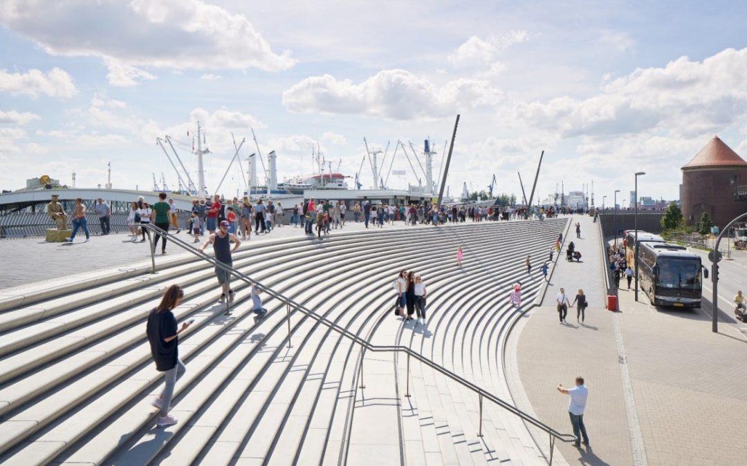 Zaha Hadid Architects adds signature style to German flood Defenses