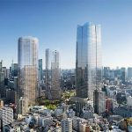 "Tokyo Starts ""Massive"" Regeneration Scheme with Country's Tallest Tower and Heatherwick Parks"