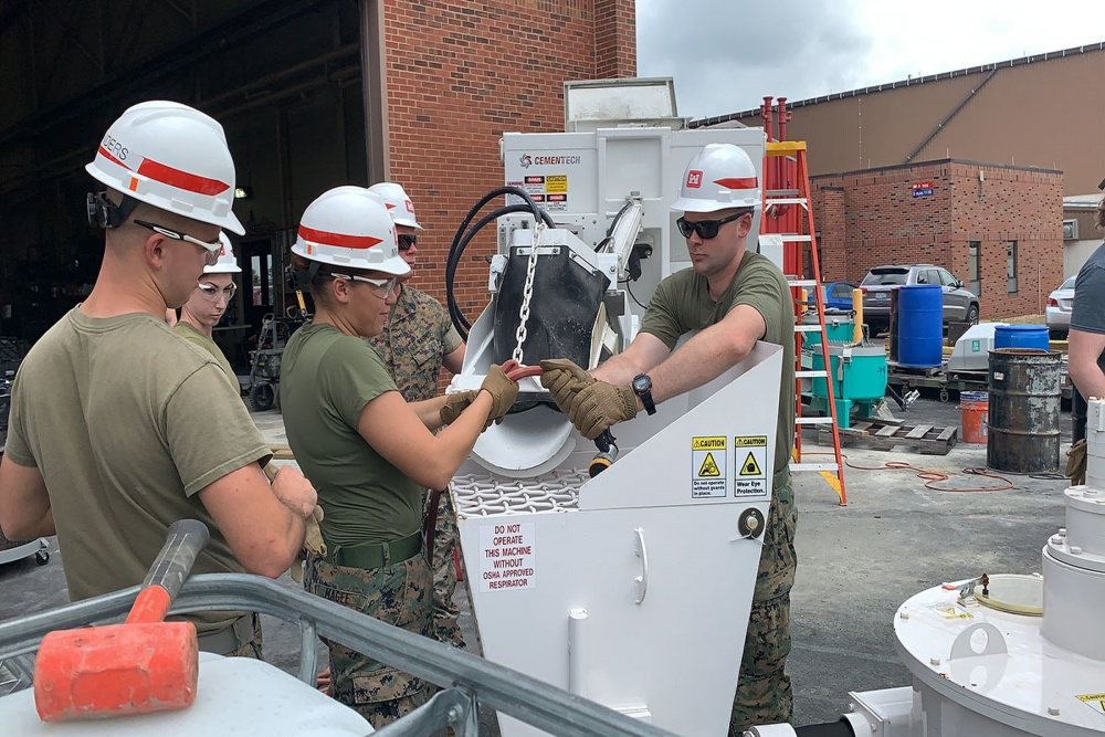 Marines, Engineers Conduct a First-of-its-Kind 3D Printing Exercise