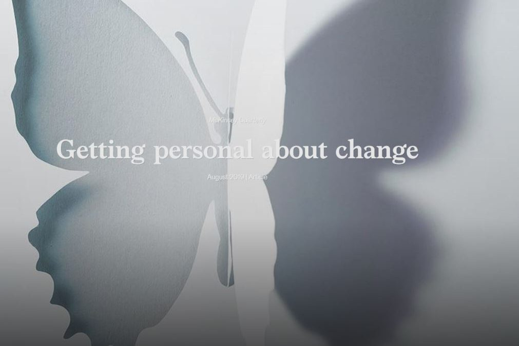 Getting Personal about Change