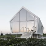 Compact Eco-Home in Tuscany Hovers Over Veggie Garden