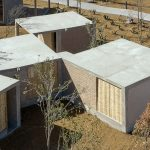 Rural, Modular Home in Mexico Allows for a wide Variety of Configuration