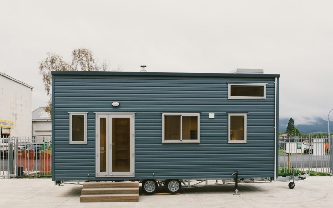 Sonnenschein Tiny House Fits Lots of Storage into Compact Footprint