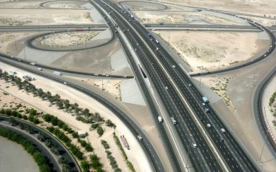 DPM Uses Geo-grids, Recycled Tres, Steel Slag to Pave Roads in Abu Dhabi