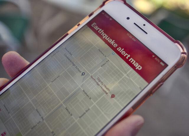 راه اندازی سیستم هشدار زلزله در کالیفرنیا