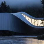 This Norwegian Bridge is also an Art Museum