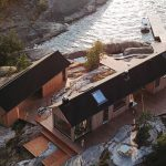 Couple Buy their Own Island and Build Two Stunning Off-Grid Cabins