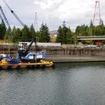 Army Corps fixes Bonneville Dam early, Barges again hauling wheat to Portland