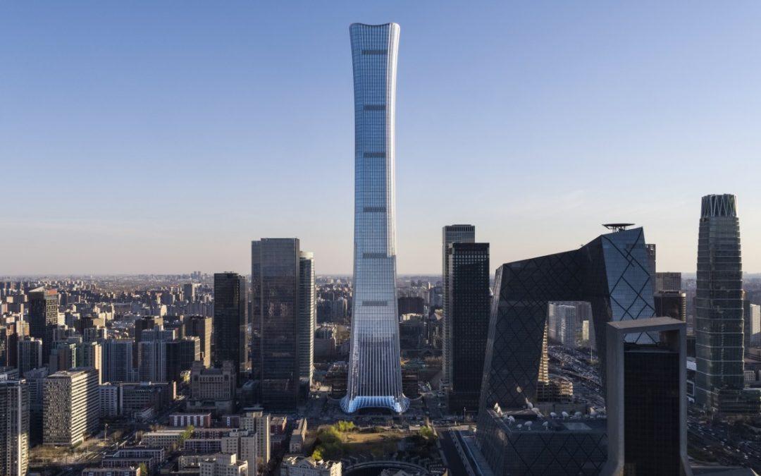 One of world's Tallest Skyscrapers Opens in Beijing