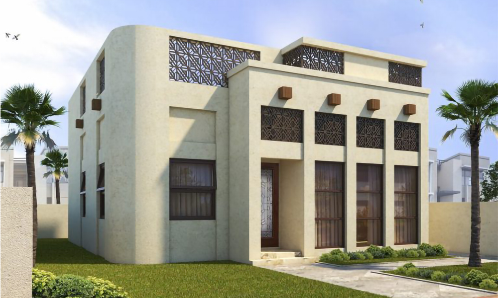 Construction at Sharjah's First 3D Printed House in Full Swing