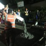 Quick-Drying Cement Utilized For Marcos Highway repair
