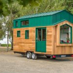 Compact Tiny House Fits in Home Office Area and Room for Guests too