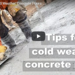 Tips for Cold Weather Concrete Pours