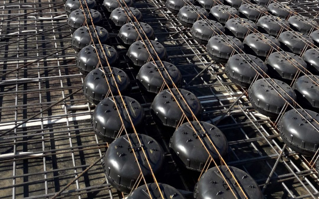 Plastic Bubbles Incorporated into High-Rise to Reduce Concrete usage by 35 Per cent