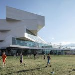 BIG-Designed School Fans out to Create Green-Roofed Terraces