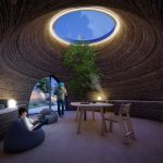 3D-Printed Clay Dwelling Under Construction in Italy