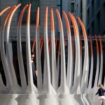 30,000 Recycled Water Bottles Make up this 3D-Printed Pavilion