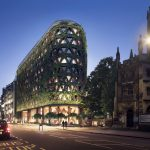 Greenery-Covered Building will Feature 400,000 Plants on its Facade
