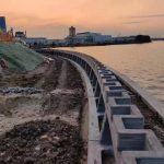 Winsun Completes World's First, 500 Meters Long, 3D Printed River Revetment Wall