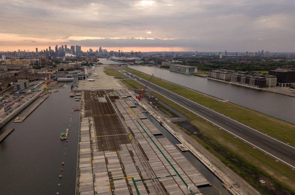 Smart Concrete   Saving Time at London City Airport