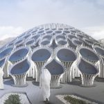 "3D-Printed Concrete ""Forest"" Pavilion Proposed For Dubai's Expo 2020"