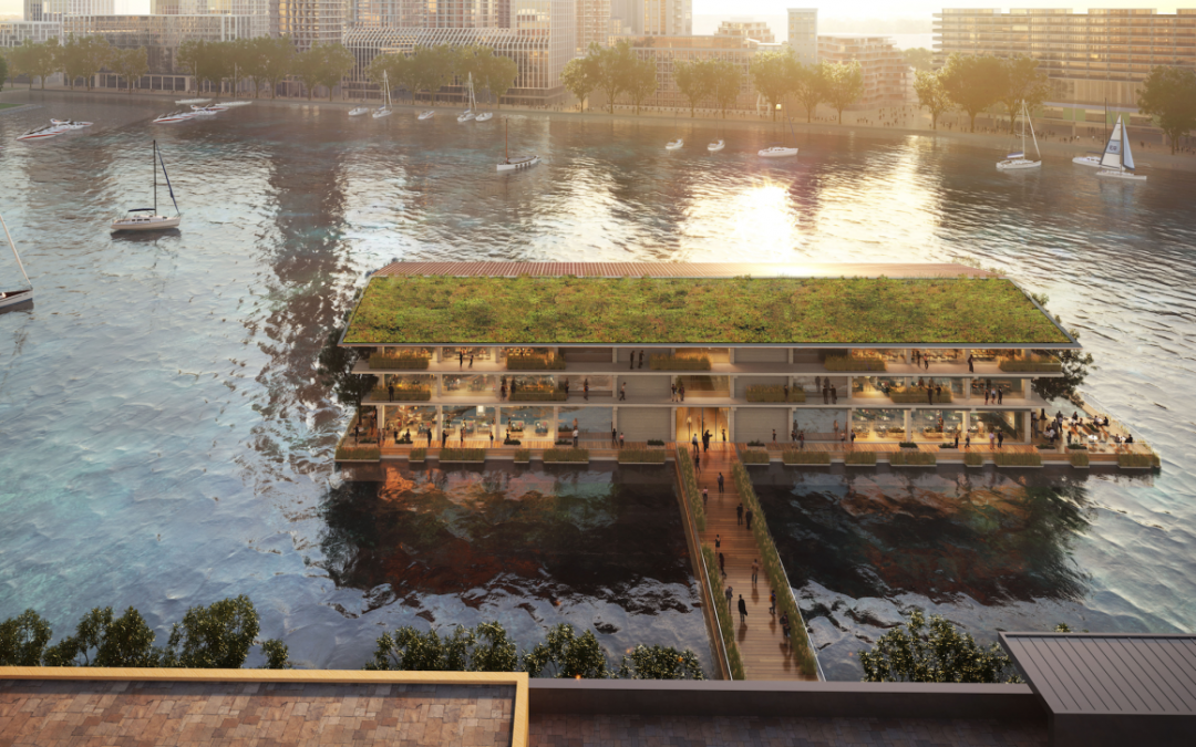 Floating Sustainable Office Planned for Rotterdam