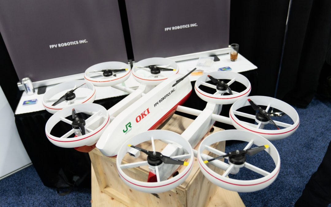 FPV Robotics Debuts Waver Drone to Inspect Infrastructure on Land, on Water and in the Air