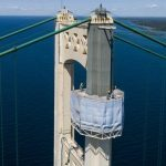 Second National Award Given to Mackinac Bridge Tower Painting Project