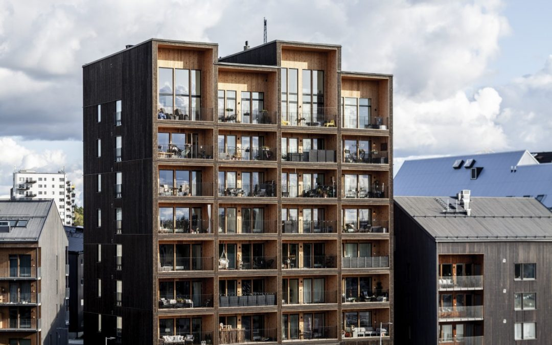 Tall Timber Building Offers Sustainability in Sweden