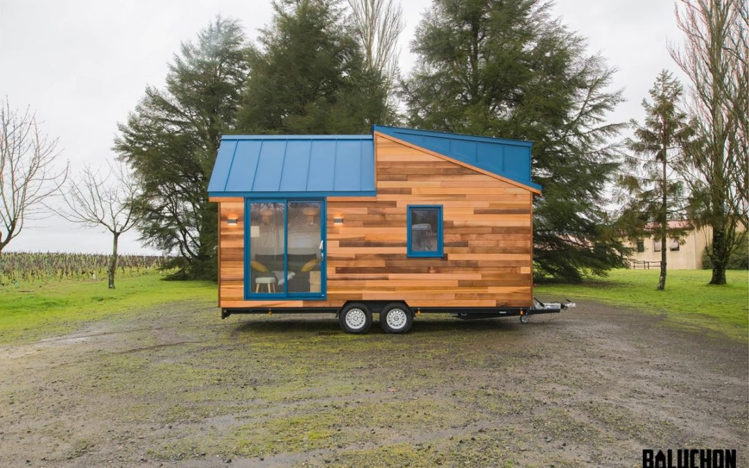 Compact Tiny House has Space for a Sleepover