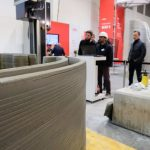 3D Printing Four Small Houses in Four Day