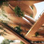 MVRDV Designs a Pancaked Urban Living Room For Shenzhen