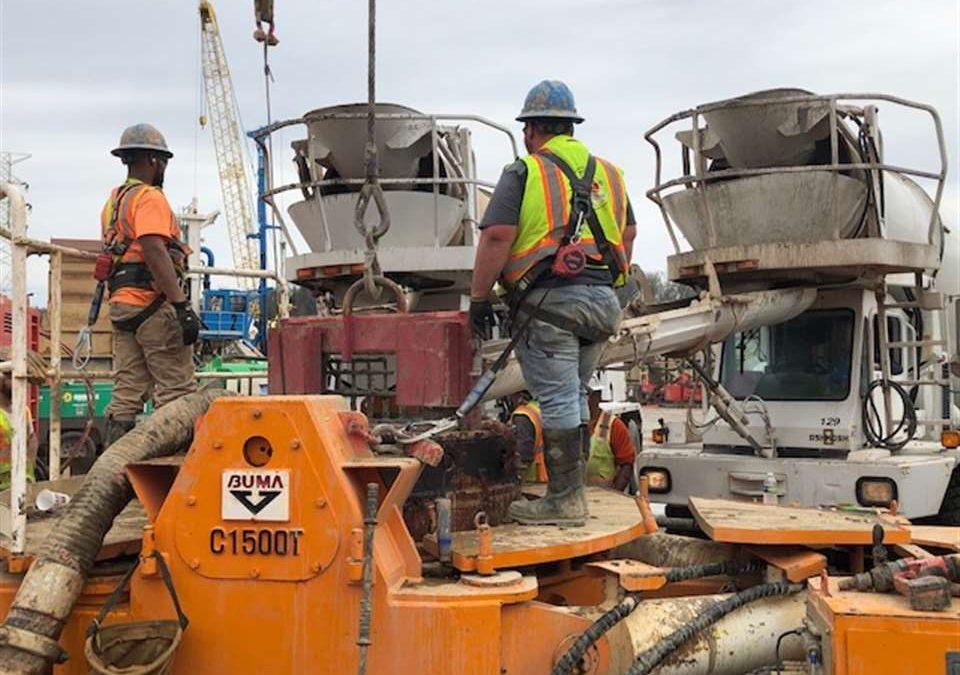 Boone Dam Repair Progressing as Scheduled in Face of COVID-19
