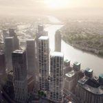 Pair of Zaha Hadid-designed Skyscrapers Set to Rise in London