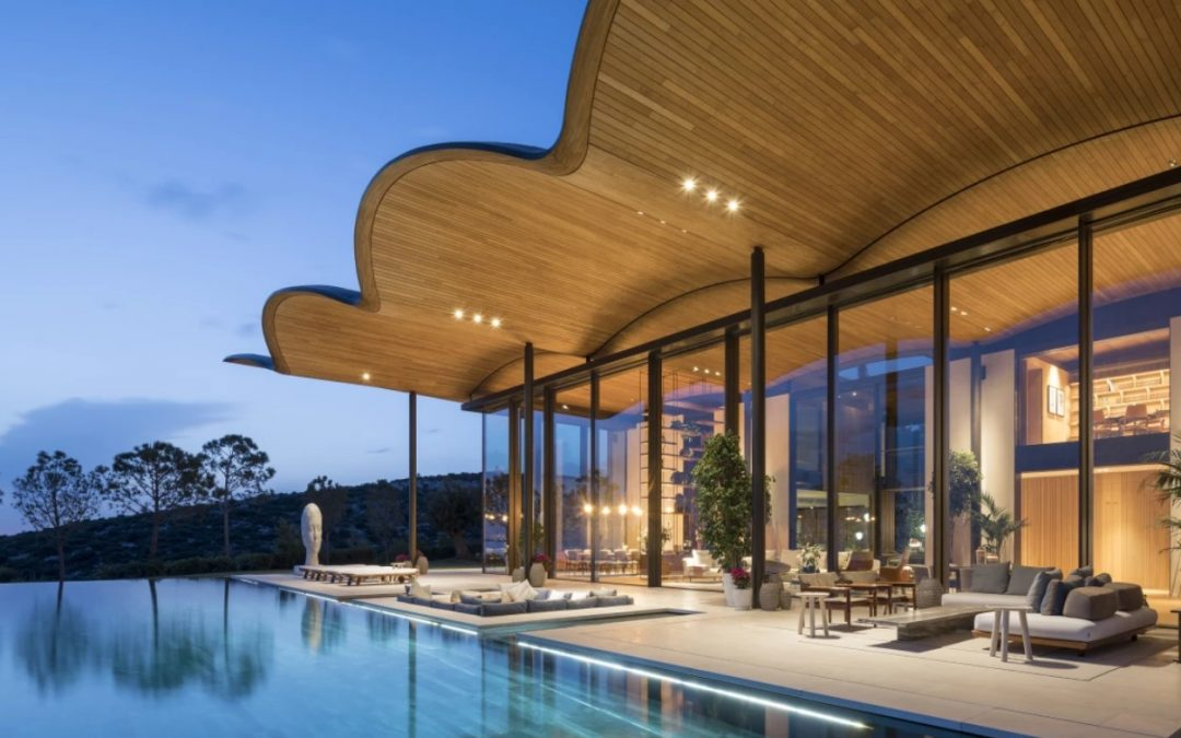 Handcrafted Timber Roof Tops Foster + Partners' Stunning Luxury Villa