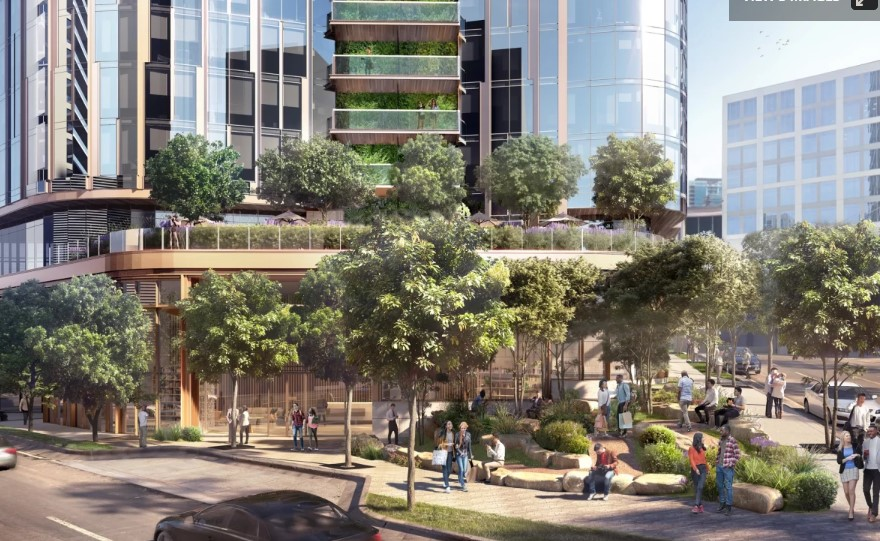Texas High-rise to Boast North America's Tallest Living Wall